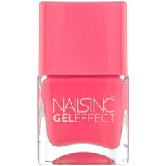 Nails Inc Gel-Effect Nail Polish ($23) ❤ liked on Polyvore