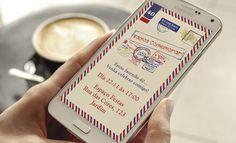 Convite Digital Aniversário Adulto Viagem  Whatsapp e e-mail    Texto Livre