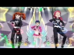 Pretty Rhythm Dear My Future - Sprouts - Mirage JET (episode 36) (+playl...