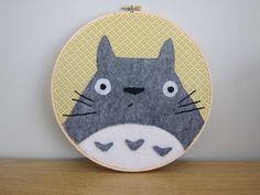 Totoro hoop   par HugsAreFun