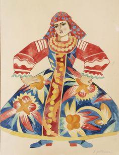 Natalia Goncharova for Ballet Russe.