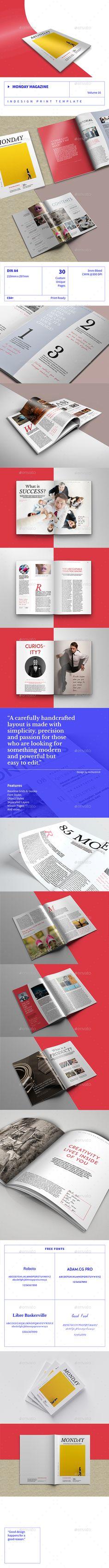 Monday Magazine - Volume 16 - Magazines Print Templates Download here : https://graphicriver.net/item/monday-magazine-volume-16/19591895?s_rank=33&ref=Al-fatih