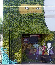 #StreetArt #UrbanArt - Creepy