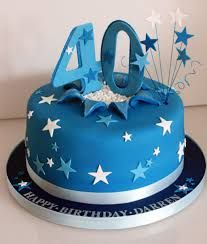 Image result for 40th birthday cakes