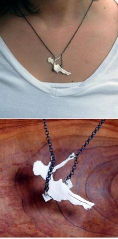 Swing necklace-so cute!
