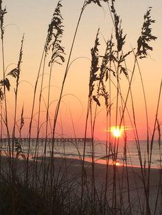 Sunrise at topsail...