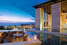 The Romanos, a Luxury Collection Resort, Costa Navarino - Anax Lounge - Terrace