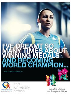 MAP Olympic themed poster