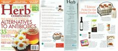 The Herb Companion - 7 editors' picks for the herbal foodie, July 2012, Herb Jars with Caddy