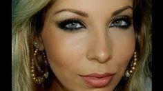 Make inspirada na Cláudia Leite, com Lu Ferraes / Claudia Leite Inspired Golden Make-up by MUA Lu Ferraes