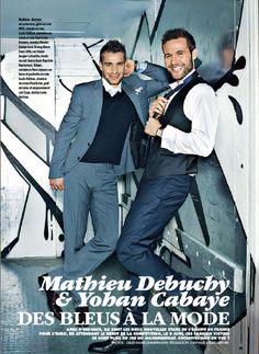 Yohan Cabaye and Mathieu Debuchy- Magnifique :)