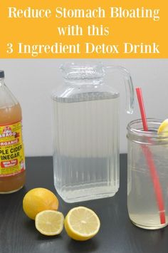 Are you feeling sluggish? Is your belly bloated? If you are focusing on a healthier lifestyle after the holidays, you will want to try this easy debloat 3 ingredient detox drink.