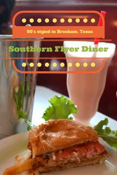 Southern Flyer Diner, Brenham, Texas