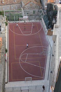 Basketball History, Basketball Court, Dubrovnik, Continents, History Of Basketball