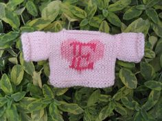 jumper with E by littlecottonrabbits, via Flickr