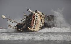 abandoned ships   Abandoned ships litter Nigeria coastline - PhotoBlog