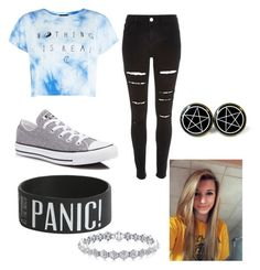 """""""summer #polyvore"""" by mcgeorgel on Polyvore featuring River Island and Converse"""
