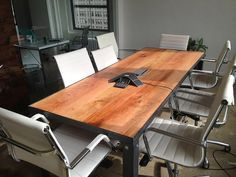 Reclaimed Industrial Style Conference Tables & Desks