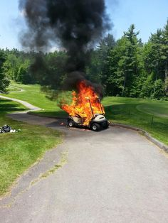oh.my.god. how!?...We count down the 15 craziest things ever found on the #golf course.