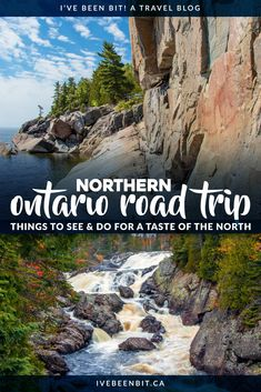 Get a dose of nature on a great Northern Ontario road trip with this itinerary. Road Trip Essentials, Road Trip Hacks, Road Trips, Canada Destinations, Vacation Destinations, Vacation Ideas, Places To Travel, Places To Visit, Sudbury Canada