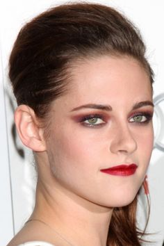 Kristen Stewart #makeup #celebrity #beauty