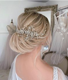 Wedding Hair Clips, Headpiece Wedding, Wedding Hair Pieces, Bridal Headpieces, Floral Headpiece, Bridal Hair Vine, Bridal Crown, Bridal Tiara, Wedding Hair Accessories