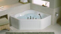 KOHLER | Tercet® | Baths | Bathing | Bathroom - 60 by 60 corner bath for possible tub shower in master bath.