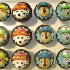 Resultado de imagem para cupcakes patrulha canina Paw Patrol Cake, Cupcakes, Marzipan, Themed Cakes, 4th Birthday, Cupcake Toppers, Fondant, Biscuits, Muffins