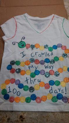 explore school 100 s kids school - 100 Days of School 💯 100 Day Project Ideas, 100 Day Shirt Ideas, 100 Day Of School Project, 100 Days Of School, School Fun, School Projects, School Stuff, Kindergarten Projects, School Craft