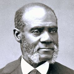 "Henry Highland Garnet, prominent Black abolitionist.  Garnet was born into slavery before his family escaped to freedom in New York City.  As an activist, he famously called for slaves to take up arms against their masters, particularly in his 1843 speech, ""An Address to the Slaves of the United States."""