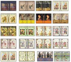 mini book covers- printables! by yvonne.lau.9634