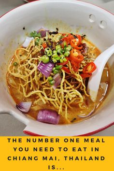 Are you wondering what amazing things there are to do in Chiang Mai, Thailand? I've compiled a list of my favorite activities, and the Thai street food dish you HAVE to try! Click here to find out more! www.willfulandwildhearted.com
