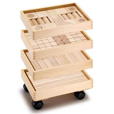 + #wooden_blocks This would be a great set for a child