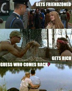 Funny pictures about Forrest Gump Story. Oh, and cool pics about Forrest Gump Story. Also, Forrest Gump Story photos. Memes Humor, Funny Memes, Joke Of The Day, Daily Funny, Tom Hanks, How To Get Rich, Best Funny Pictures, Hilarious Photos, Good Movies