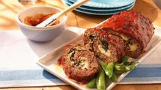 Not much harder to make than plain meat loaf, this dressed-up version is nice enough for company.