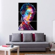 Cersei Multi Panel Canvas Wall Art by ElephantStock is printed using High-Quality materials for an elegant finish. We are the specialists in Modern Décor canvas prints and we offer 30 day Money Back Guarantee Artist Canvas, Artist Painting, Artist Art, Canvas Size, Canvas Wall Art, Canvas Prints, Create Canvas, Indie Art, Cersei