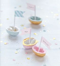Mark-up walnut washi tape boat Festa Party, Diy Party, Party Ideas, Diy Projects To Try, Craft Projects, Pastell Party, Diy And Crafts, Crafts For Kids, Walnut Shell
