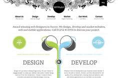 1minus1 Web Design Inspiration - Web Design Hood