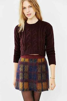 Lucca Couture Cropped Sweater - Urban Outfitters