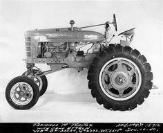 Experimental Farmall M Tractor | Photograph | Wisconsin Historical Society