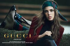 I really like the scarf around the head CHARLOTTE CASIRAGHI   ART IS SHOW ART IS ONLY EXTASY ART IS ONLY EMOTION