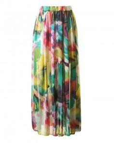 Pink Mothballs - It's all about long MAXI SKIRTS and FLOWER prints. #fashion #nothingtowear #caniborrowit pinkmothballs.com