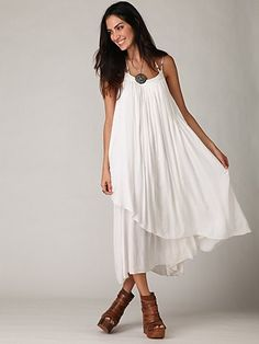 Ahhh Free People.  The shoes are a bit much for me, but LOVE LOVE LOVE the dress.