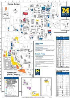 U O F T Campus Map.20 Best University Of Michigan Campus Images University Of