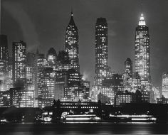 Andreas Feininger: New York City, 1940