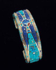A Navajo bracelet Raymond Yazzie