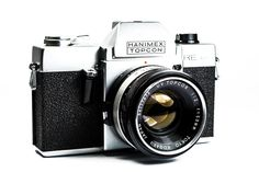 Hanimex Topcon RE Auto 35mm SLR Camera with Topcor 53mm Lens #Topcon #Camera #Vintage #Photography #Filmphotography