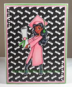 AKA Graduation by TrinaMakesStuff - Cards and Paper Crafts at Splitcoaststampers