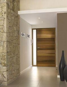 Porte d'entrée / en bois / massif / simple NATIV1 ZILTEN