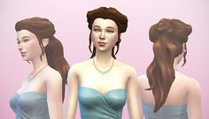 "sssvitlans:  ""delcowebney:  "" Another Telltales Game of Thrones hair port, this time from lovely young Margaery Tyrell. Managed to keep the original feel of the texture by not going crazy with repainting details (tho that hairline is all mine). Since..."
